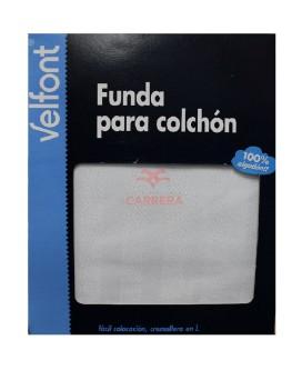 FUNDA COLCHON RASO LABRADO