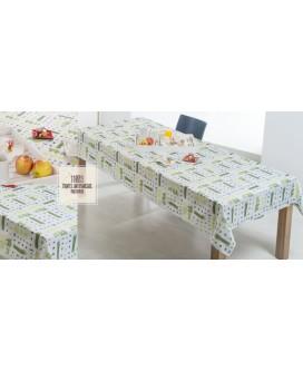 OFERTA MANTEL ANTIMANCHAS 150X150