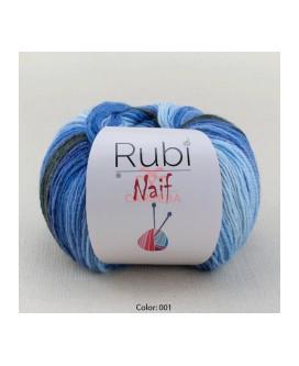 Rubi NAIF 100 grms. <>12 ovillos