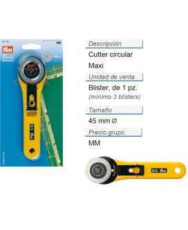 Cuter circular maxi 45 mm CONT: 5 TAR de 1 pz