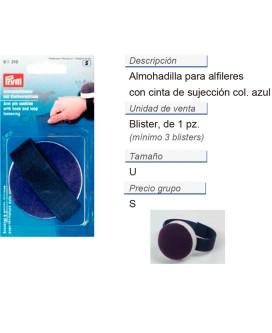 Almohadilla p. alfileres + sujecion CONT: 3 TAR de 1 pz