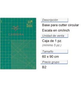 Base p. cuter circ. cm/inch 60 x 90 cm CONT: 5 PZ de 1 pz