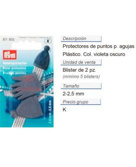 Protectores de puntos p. 2,00 y 2,50 mm CONT: 5 TAR de 2 pz