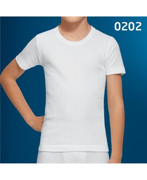 Camiseta Junior M/C <>Caja 3 uds