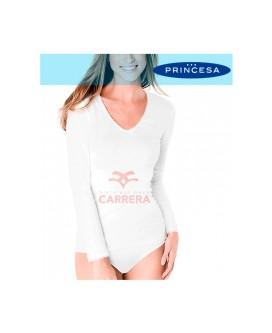 CAMISETA THERMAL FIBRA (ART.48)  M/L 3UDS