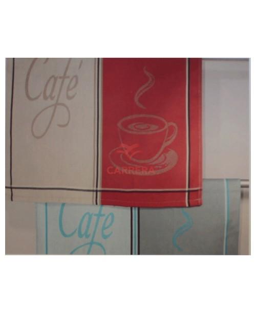 PAÑO COCINA CAFE TROVADOR 50X70 12UDS Surtido