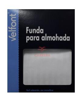 FUNDA ALMOHADA RASO LABRADO
