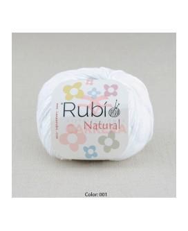 Rubi Natural 50 grms <>6 ovillos