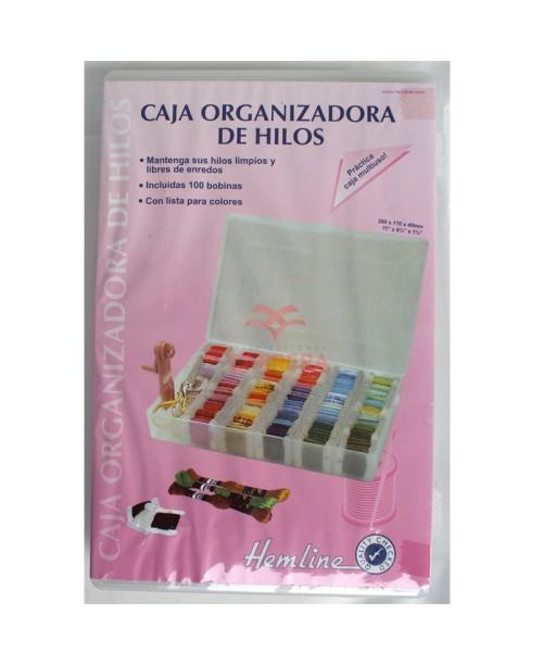 CAJA ORGANIZADORA DE HILOS - GRANDE