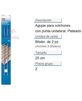 Agujas p. colchones c. punta unilateral 10'' 2,35 x 250 mm p