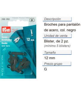 BROCHE PANTALON ACERO 5 BLIS