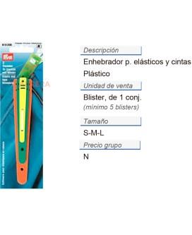Enhebrador para elásticos y cintas CONT: 5 TAR de 3 pz