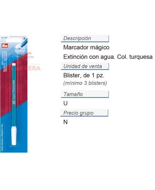 Marcador extincion con agua CONT: 5 TAR de 1 pz