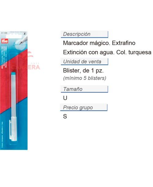 Marcador extincion con agua extra fino CONT: 5 TAR de 1 pz