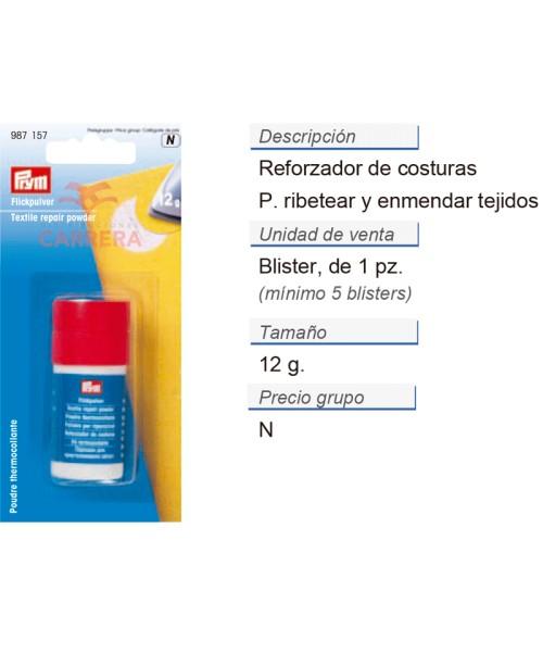 Reforzador de costuras CONT: 5 TAR de 12 g