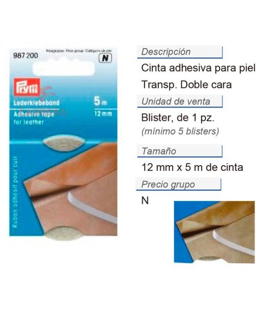 Cinta adhesiva para piel 12 mm CONT: 5 TAR de 5 m