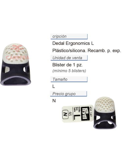 Dedal ergonomics L recambio p. expos. CONT: 5 PZ de 1 pz