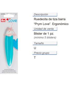 Prym Love Ruedecita de tiza Barra ergonomics CONT: 5 TAR de