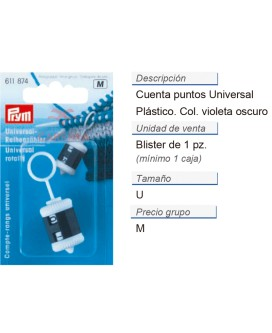Cuentapuntos universal CONT: 5 TAR de 1 pz