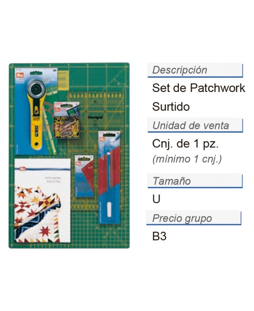 SET DE PATCHWORK 1UD