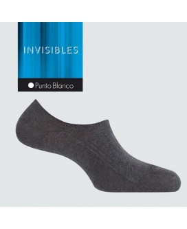 CALCETIN INVISIBLE PUNTO BLANCO 13446 (24 pares)