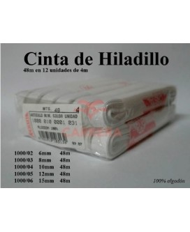 CINTA HILADILLO ALGODON