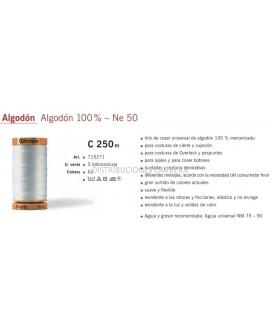 HILO ALGODON GUTERMANN 250 METROS