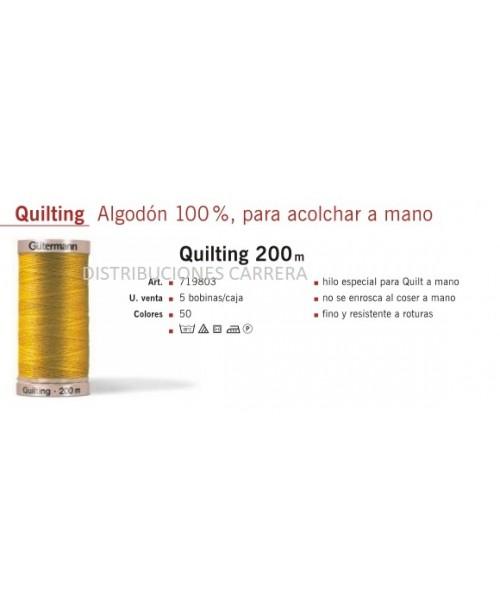 HILO QUILTING GUTERMAN 200 METROS
